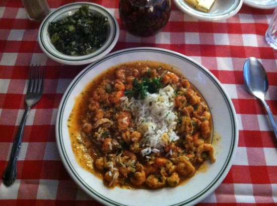 Bon Ton Cafe: Crawfish Ettioufee comparable to my Moma's