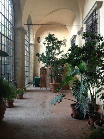 Torre Di Bellosguardo: indoor garden