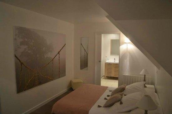 La Villa Bel Ange : chambre gael