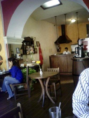 Restaurante Mammas Antigua: Lunchtime at Mamma's