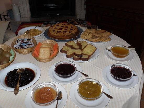 B&B Rosemarie : sala colazione