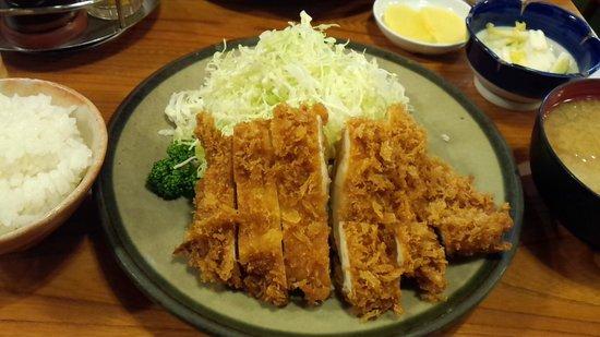 Tonkatsuozeki : チキンカツ定食」