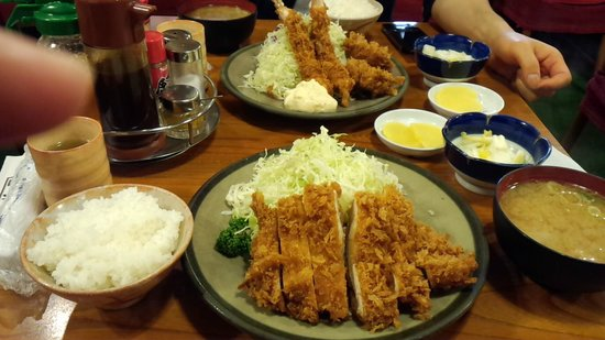 Tonkatsuozeki : 定食