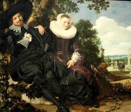 Rijksmuseum: Portrait de couple - Frans Hals (1622)