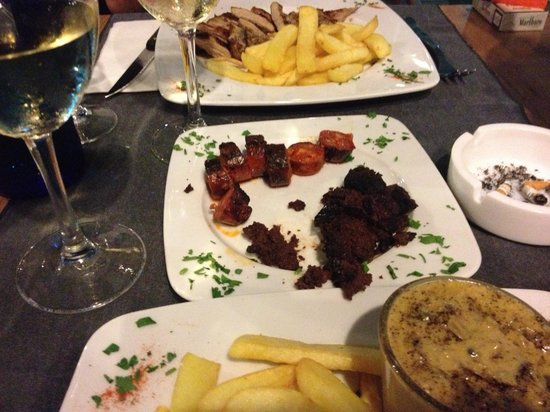 Restaurante La Mamma: Argent sausage & black pudding
