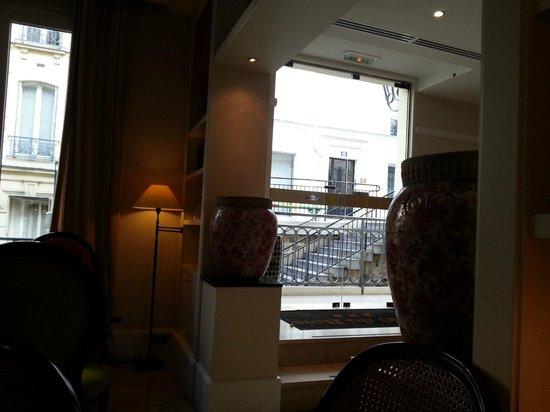 Hotel du Bois: Recepcion