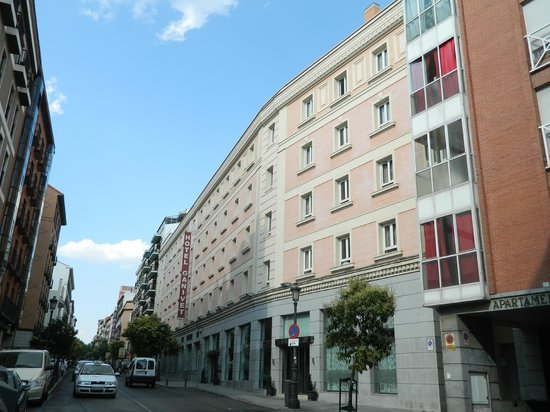 Ganivet Hotel: Vista exterior del hotel
