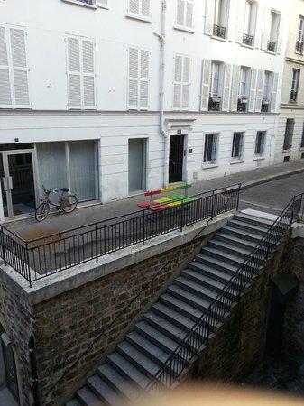 Hotel du Bois: Vista desde la habitacion