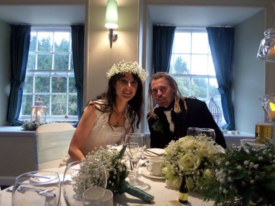 New Lanark Mill Hotel: Our wedding in the Robert Owen Suite