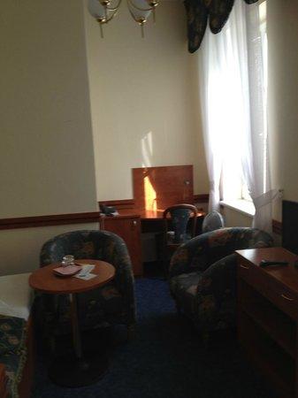 Hotel Arcus: chambre 2 lits