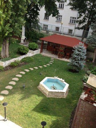 Hotel Arcus: vu de la chambre