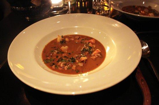 Bond: Soupe avec bisque de homard