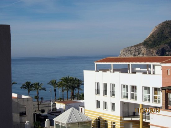 Hotel Almijara: View from Room 407's balcony!