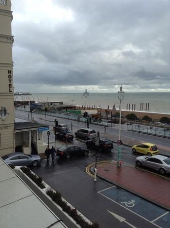 Holiday Inn Brighton - Seafront: looking left from room