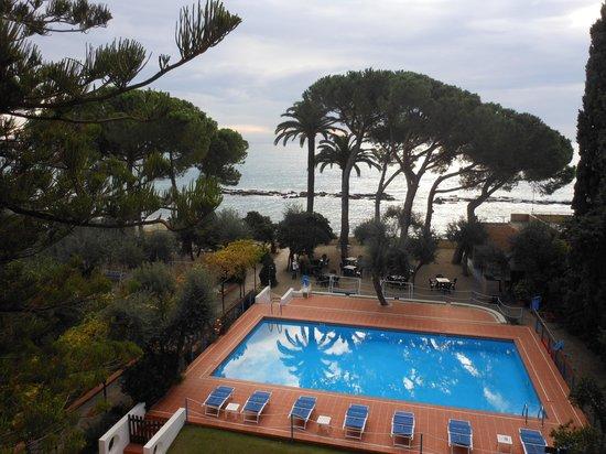 Hotel Eden Park: vue de la chambre