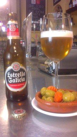 Bar Restaurante La Tulipa: Estrella Galicia