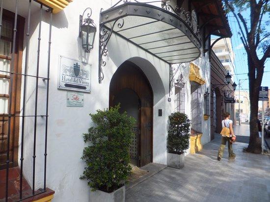 Hotel del Virrey: front of hotel