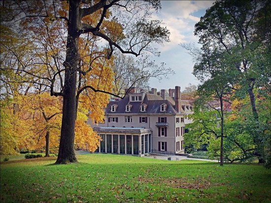 Winterthur Museum, Garden & Library: One wing of the very large estate home