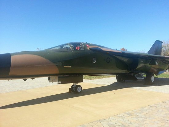 Aviation Heritage Park: F111