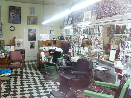 Floyd's City Barbershop: Floyd's Barbershop Mt. Airy NC