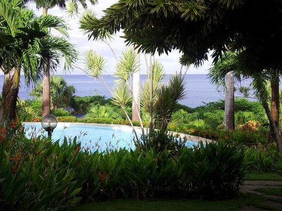 Hotel Au 'Ti Sucrier: vue de la terrasse du logement