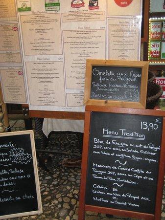 L'instant Délice : Menús L´instant Delice