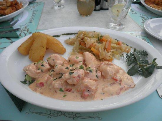Zepos Restaurant: Gericht