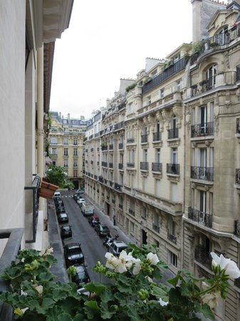 Hotel Residence Foch : View from the room