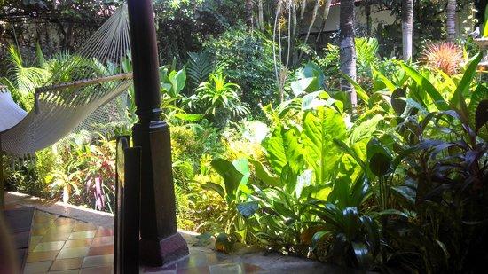 The Garden Cafe Tropical Courtyard