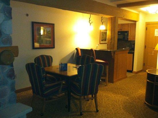 Frontier Restaurant: Furnished kitchen and dining