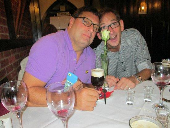 La Stalla Restaurant: Coppo & Dave at La Stalla