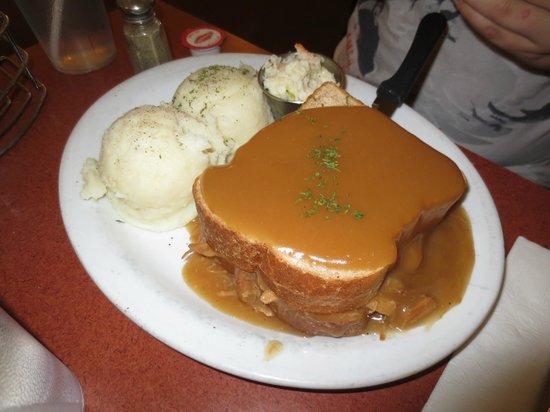 Kempsters: Hot Turkey Sandwich - tasty