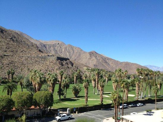 Hyatt Palm Springs: View from balcony