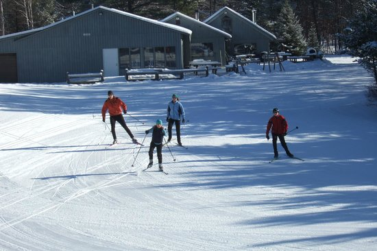 Roscommon, MI: We offer a free group lesson every Saturday at 4:00pm while there's snow!