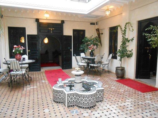 Riad Palais Delia : vue de notre suite