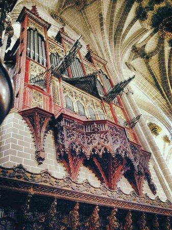 La Seo del Salvador : Órgano