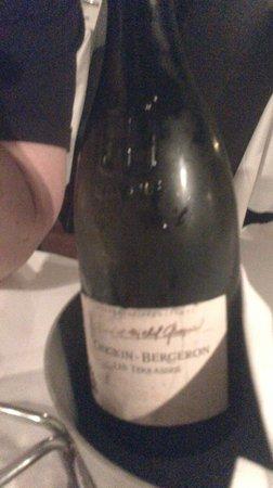 Brasserie des Brotteaux: le vin