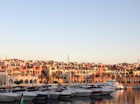 Marina Plaza Hotel Tala Bay : The Marina in Tala Bay