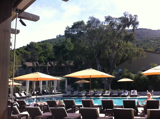 Carmel Valley Ranch: pool - the one for adults only!