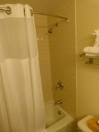 Wyndham Bay Voyage Inn: Clean shower, excellent fixtures.