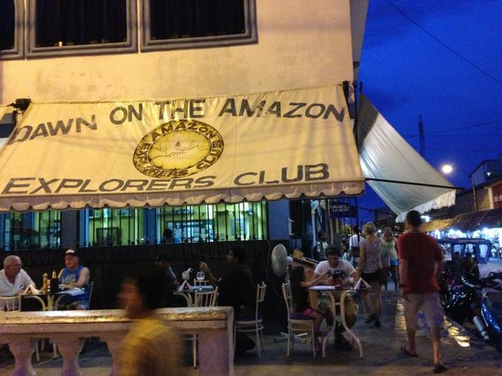 Dawn on the Amazon Cafe: don't miss it