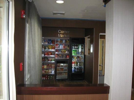 Fairfield Inn & Suites Yakima : New gift shop area