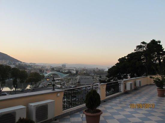 Hotel GTM Kapan: view