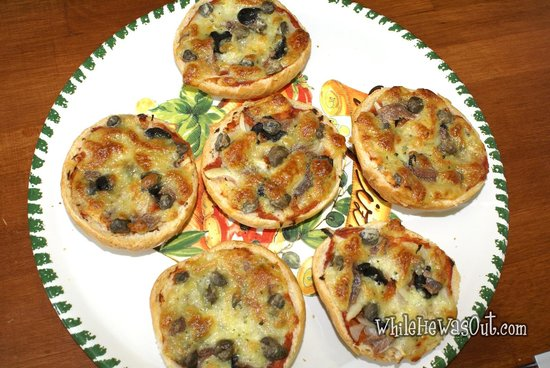 Jilted Anchovy Pizza