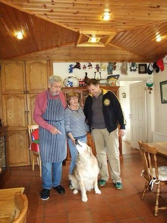 Kajon House B&B : Kate and John are amazing people! People like them are the reason we visited Ireland already 3 t
