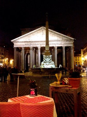 Di Rienzo Pantheon Palace : View from restaurant