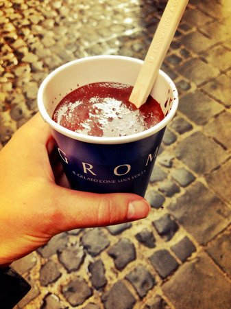 Di Rienzo Pantheon Palace : GROM is the best place to get a real Italian Hot Chocolate