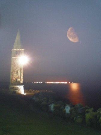 Da Nappa: vista sul mare e il campanile della chiesetta dei pescatori