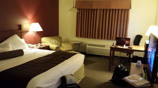 BEST WESTERN Rose Quartz Inn: Gemütliche und geräumige Zimmer