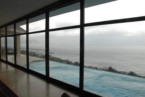 Aqua Terra: Die Aussicht vom Speisezimmer/Loungebereich